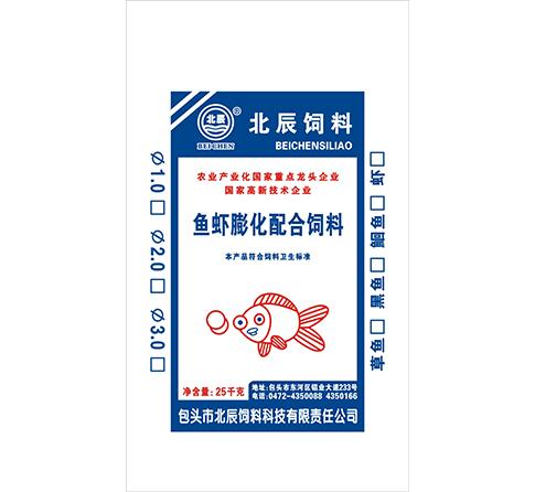 北辰鱼虾膨化配合饲料